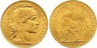 20 Francs Gold 1912  A Frankreich Dritte Republik 1870-1940. Vorzüglich... 255,00 EUR