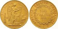 100 Francs Gold 1909  A Frankreich Dritte Republik 1870-1940. Vorzüglic... 1325,00 EUR