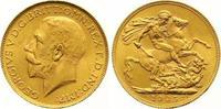 Sovereign Gold 1925  SA Großbritannien George V. 1910-1936. Vorzüglich ... 325,00 EUR