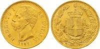 20 Lire Gold 1881  R Italien-Königreich Umberto I. 1878-1900. Fast Stem... 285,00 EUR  +  7,00 EUR shipping