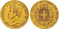 20 Lire Gold 1834  P Italien-Sardinien Carlo Alberto 1831-1849. Winz. R... 255,00 EUR