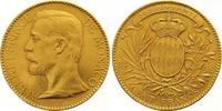 100 Francs Gold 1896 Monaco Albert 1889-1922. Fast vorzüglich  1275,00 EUR