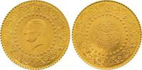 50 Piaster Gold 1962 Türkei Republik. Stempelglanz  145,00 EUR  +  7,00 EUR shipping
