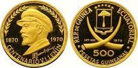 500 Pesetas Gold 1970 Äquatorial Guinea Republik seit 1968. Polierte Pl... 285,00 EUR