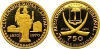 750 Pesetas Gold 1970 Äquatorial Guinea Republik seit 1968. Polierte Pl... 420,00 EUR