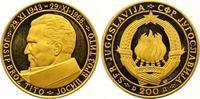 200 Dinars Gold 1968 Jugoslawien Volksrepublik. Polierte Platte  625,00 EUR