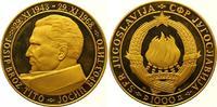 1000 Dinars Gold 1968 Jugoslawien Volksrepublik. Winziger Kratzer, Poli... 3100,00 EUR
