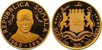 50 Shillings Gold 1966 Somalia Republik. Ab 1950. Winzige Kratzer, Poli... 275,00 EUR  +  7,00 EUR shipping