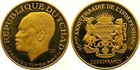 20000 Francs Gold  Tschad Republik seit 1962. Winzige Kratzer, Polierte... 2900,00 EUR