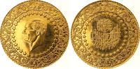 500 Piaster Gold 1972 Türkei Republik. Fast Stempelglanz  1450,00 EUR