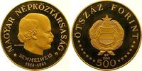 500 Forint Gold 1968 Ungarn Volksrepublik 1949-1989. Polierte Platte  1575,00 EUR