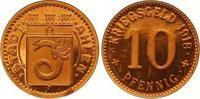 Kupferabschlag von den Stempeln des 10 Pfennig 1918 Ahlen  Polierte Pla... 190,00 EUR