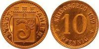 Kupferabschlag von den Stempeln des 10 Pfennig 1919 Ahlen  Polierte Pla... 190,00 EUR