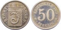 Silberabschlag von den Stempeln des 50 Pfennig 1919 Ahlen  Vorzüglich -... 450,00 EUR