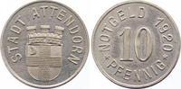 Silberabschlag von dem Stempel des 10 Pfennig 1920 Attendorn  Stempelgl... 450,00 EUR