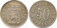 Silberabschlag von den Stempeln des 50 Pfennig 1920 Olpe  Vorzüglich - ... 350,00 EUR