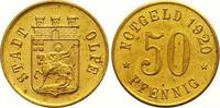 Messingabschlag von den Stempeln des 50 Pfennig 1920 Olpe  Polierte Pla... 175,00 EUR