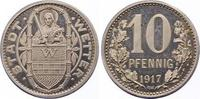 Silberabschlag von den Stempeln des 10 Pfennig 1917 Wetter  Polierte Pl... 750,00 EUR