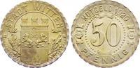 Silberabschlag von den Stempeln des 50 Pfennig 1920 Witten / Westfalen ... 450,00 EUR