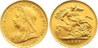 Half Sovereign Gold 1901 Großbritannien Victoria 1837-1901. Winziger Ra... 225,00 EUR  +  7,00 EUR shipping