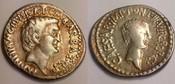 AR denarius / AR denar 41 BC Römische Repu...