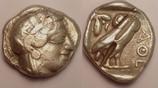 AR Tetradrachm / Tetradrachmon 454-404 BC ...