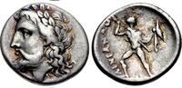 Hemidrachm 360-350 BC Thessaly / Thessalien Ainianes, Hypata Sehr schön  450,00 EUR