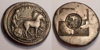 Tetradrachm / Tetradrachmon 500-485 BC SICILY / Sizilien Syracuse / Syr... 6500,00 EUR  zzgl. 15,00 EUR Versand