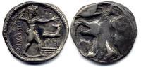 Stater 525-500 BC Bruttium Kaulonia good Very Fine  1450,00 EUR
