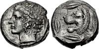 AR Tetradrachm / Tetradrachmon 430-425 BC Sicilly / Sizilien Leontini g... 4200,00 EUR  zzgl. 15,00 EUR Versand
