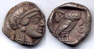 Tetradrachm 454-404 BC Attica / Attika Athens / Stadt Athen - fine styl... 2200,00 EUR