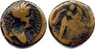 AE 18 mm 83/84 AD Judaea Herodians. Agrippa II with Domitian 49-95 AD -... 120,00 EUR  zzgl. 10,00 EUR Versand