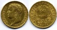France / Frankreich 40 Francs Napoleon I Empereur