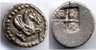 AR Hemiobol 470-460 BC Macedon / Makedonien Argilos Extremely Fine  475,00 EUR  zzgl. 12,00 EUR Versand
