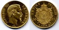 50 Francs 1858 A France / Frankreich Napoleon III - bare head * Discoun... 950,00 EUR  zzgl. 12,00 EUR Versand