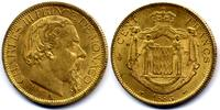 100 Francs 1886 Monaco Charles III EF-UNC / Vorzueglich-Stgl  1800,00 EUR  zzgl. 15,00 EUR Versand