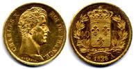 40 Francs 1828 A France / Frankreich Charles X EF-UNC / vzgl-Stgl  1200,00 EUR  zzgl. 15,00 EUR Versand