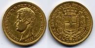 10 Lire 1844 Genoa Italy / Italien Sardina, Carlo Alberto near VF / fas... 950,00 EUR  zzgl. 12,00 EUR Versand