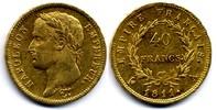 40 Francs 1811 A France / Frankreich Napoleon I Empereur near Extremely... 800,00 EUR  zzgl. 12,00 EUR Versand