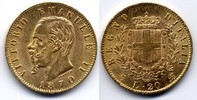 20 Lire 1870 Torino Italy / Italien Vittorio Emanuele II // Victor Eman... 1600,00 EUR  zzgl. 15,00 EUR Versand