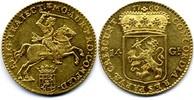 14 Gulden / Gouden Rijder 1760 Netherlands / Niederlande Utrecht gutes ... 1200,00 EUR  zzgl. 15,00 EUR Versand