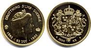 1000 kronor 1993 Schweden Köningin Silvia 50 Jahre Erstabschlag  260,00 EUR