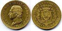 40 Lire 1822 Torino Italy / Italien Sardina, Carlo Felice / Charles Fel... 1200,00 EUR  zzgl. 15,00 EUR Versand