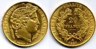 20 Francs 1851 A France / Frankreich Second republic / Zweite Republik ... 700,00 EUR  zzgl. 12,00 EUR Versand