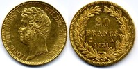 20 Francs 1831 A France / Frankreich Louis Philippe vzgl-Stgl  700,00 EUR  zzgl. 12,00 EUR Versand