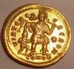 AV Solidus AD 441 Roman Empire / Römische Kaiserzeit Theodosius II. AD ... 2400,00 EUR  zzgl. 15,00 EUR Versand