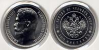 37,5 rubel / 100 Francs 1902 Russia / Russland Nikolaus II / Nicholas I... 30,00 EUR