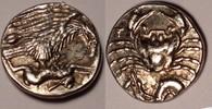AR hemidrachm / hemidrachme 410-406 BC Sizilien / Sicily Akragas vzgl  1200,00 EUR