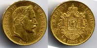 50 Francs 1865 A France / Frankreich Napoleon III fast vorzueglich  800,00 EUR  zzgl. 12,00 EUR Versand