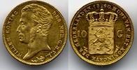 10 Gulden 1840 Netherlands / Niederlande  vzgl  750,00 EUR